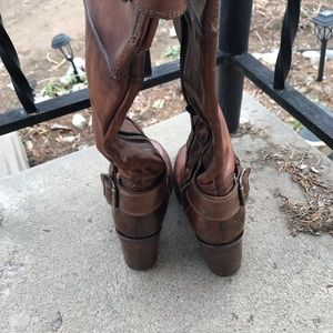 Freebird by Steven Shoes - Freebird  brush heel boots